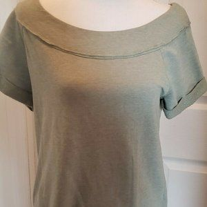 Maurices NWT Solid Marilyn Neck Sweatshirt Med